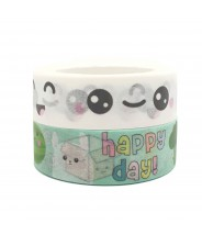 Washi tape duo happy &...
