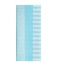 Zijdevloei papier baby blauw drie soorten