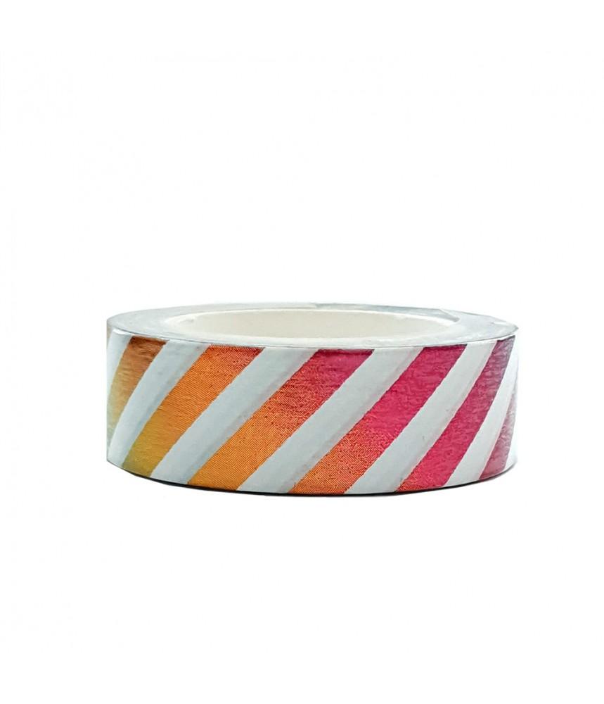 Washi tape regenboog folie