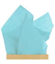 Zijdevloei papier lichtblauw