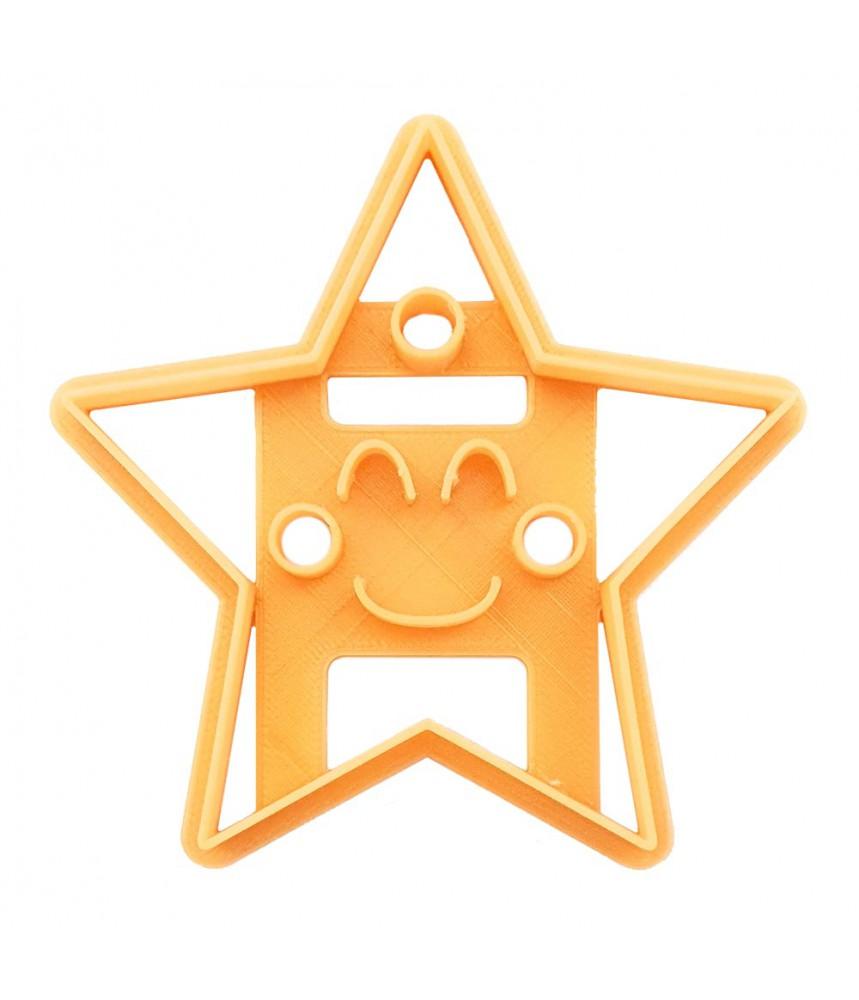 Koekjesvorm uitsteker ster