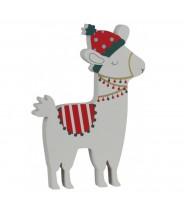 Decoratie kerst alpaca met lampjes