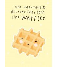 "Kaart ""waffles"" a little lovely company"