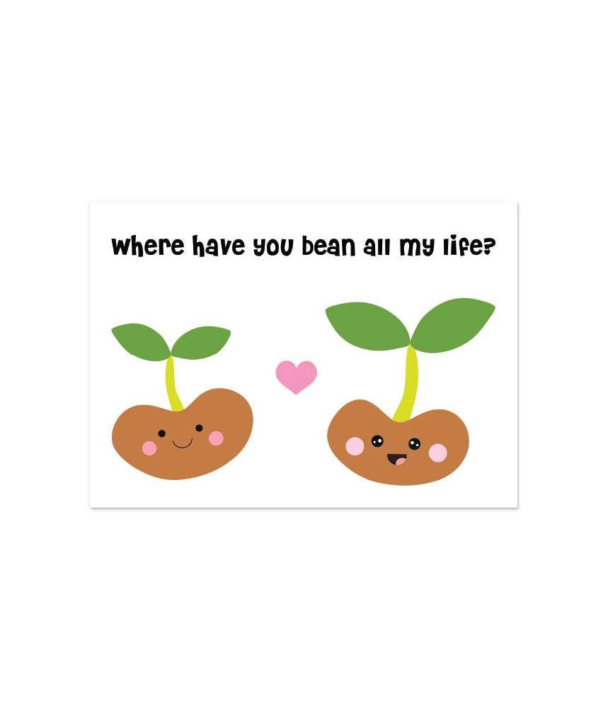 Kaart where have you bean
