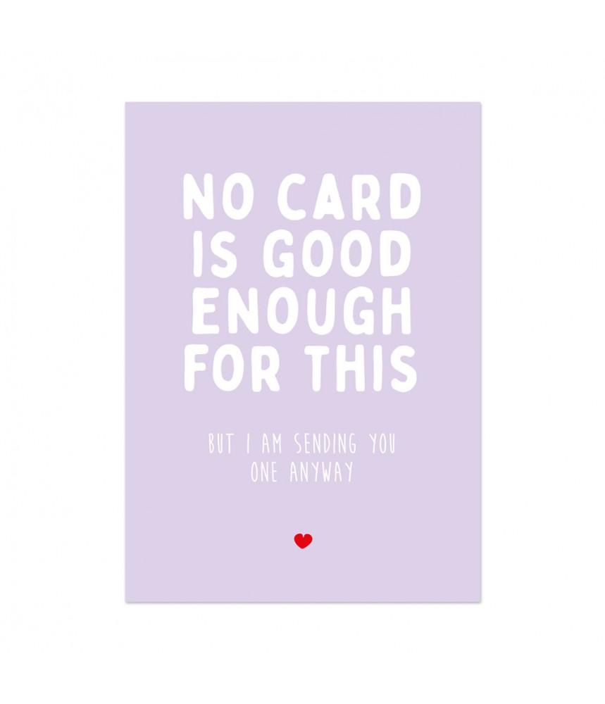 Kaart studio inktvis no card is good enough