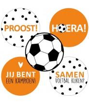 Stickers rond EK voetbal