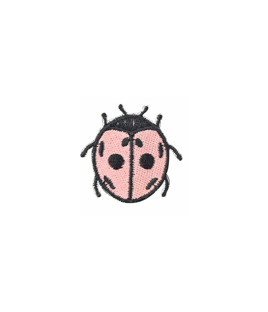 Patch strijk applicatie - Lieveheersbeestje
