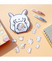 Stickers losse konijntjes