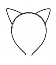 Haarband katjes oren zwart