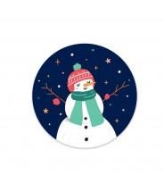 Sticker sneeuwpop Little...