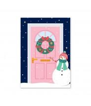 Kerstkaart deurtje...