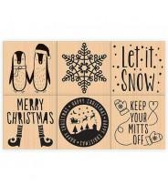 Stempels kerst - kies je favoriet!