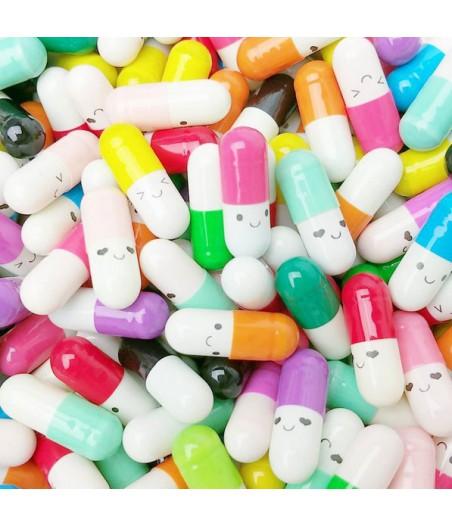 Blije pilletjes message pill (10 stuks)