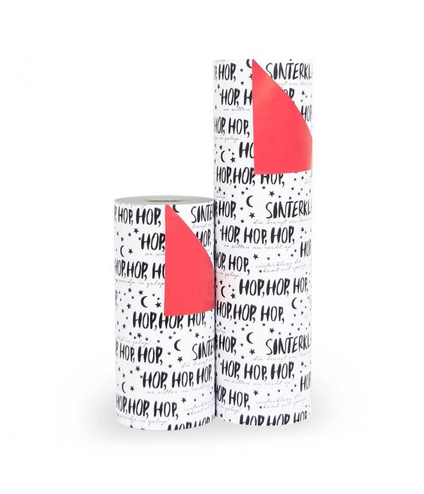 """Cadeau papier Sinterklaas """"hop hop hop"""""""