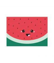 """Kaart """"watermeloen gezichtje"""""""