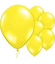 Ballon per stuk - Geel