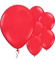 Ballon per stuk - Rood