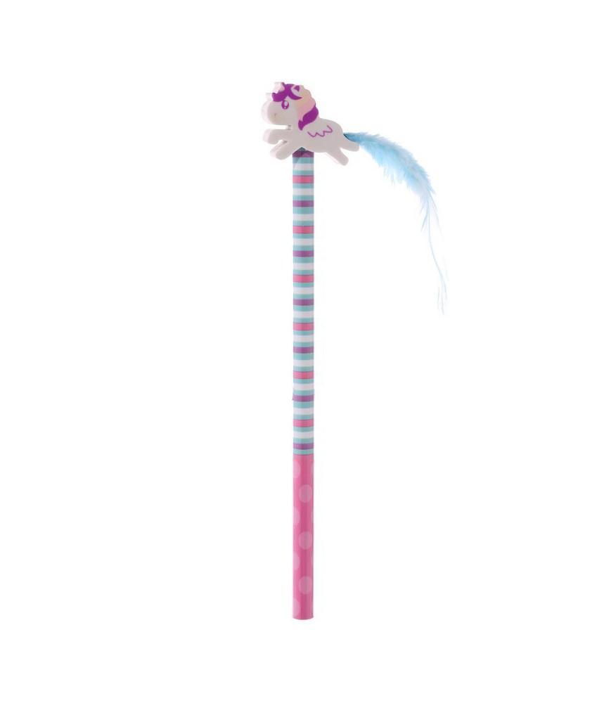 Potlood eenhoorn unicorn - Blauw