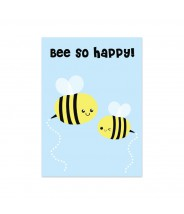 "Kaart ""bee so happy"""