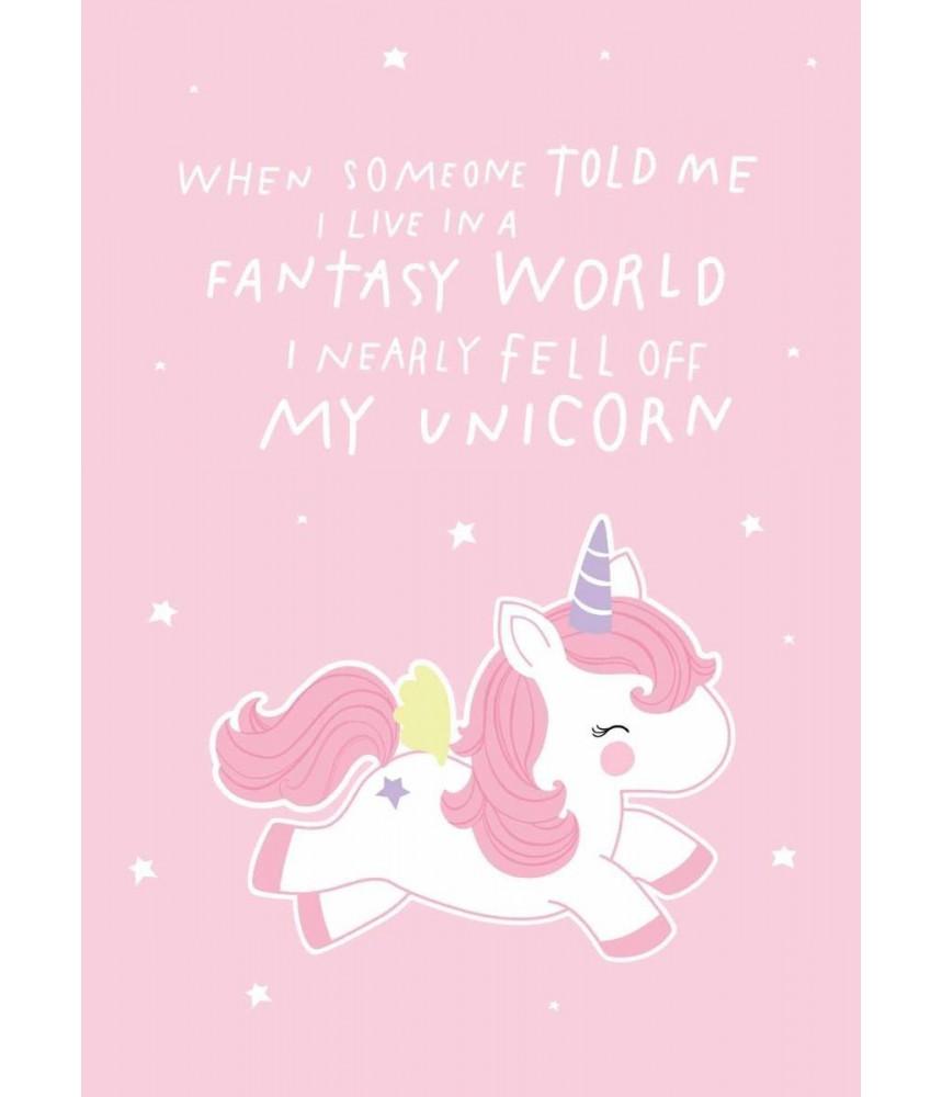 Kaart - Fantasy unicorn (ALC)