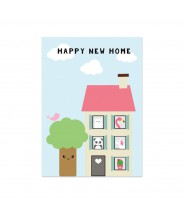 """Kaart """"happy new home"""""""