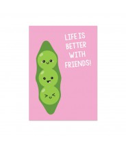 """Kaart """"friends beans"""""""