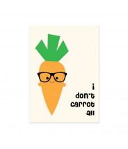 """Kaart """"carrot all"""""""