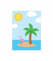"""Kaart """"happy island"""""""