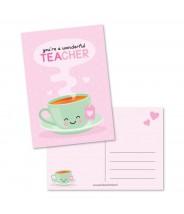 Kaart wonderful teacher (studio schatkist)
