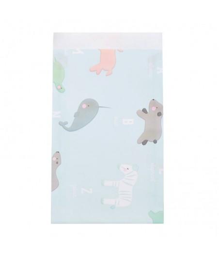 Papieren zakjes ABC animals