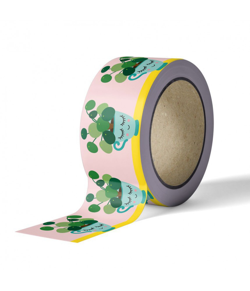 Washi tape studio inktvis - pilea