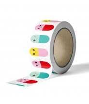 Masking tape studio inktvis - chill pills
