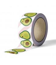 Masking tape studio inktvis - avocado