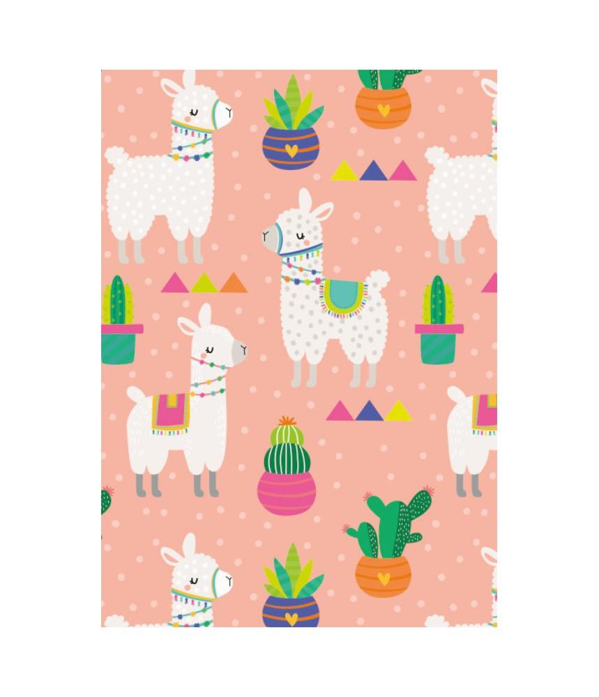Cadeaupapier vellen alpaca (5 stuks)