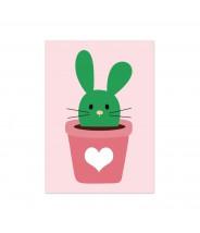 Kaart bunny cactus