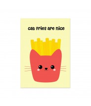 Kaart cat fries