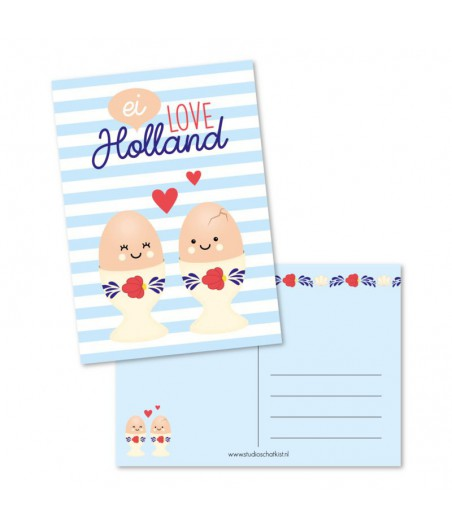 Kaart ei love holland (studio schatkist)
