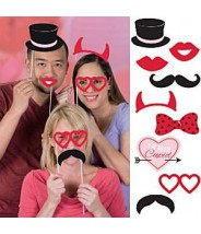 Photo booth props - foto props valentijn