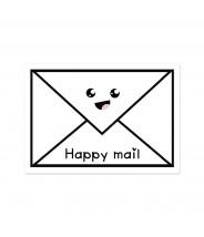 Kaart happy mail