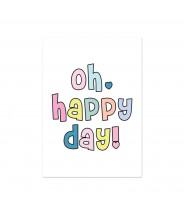 Kaart oh happy day!