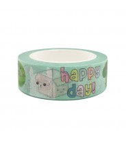 Washi tape Live Life Happy