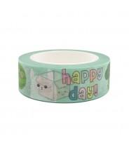 Washi tape Live Life Happy