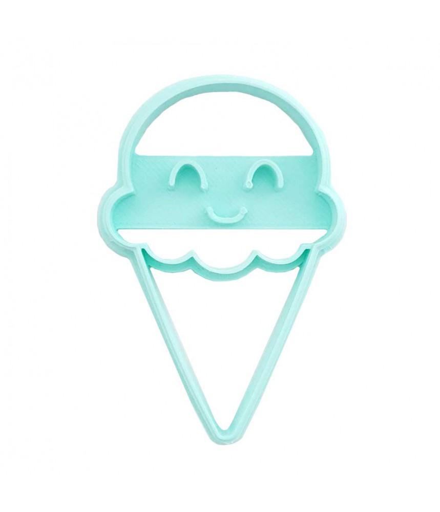 Koekjesvorm uitsteker ijsje