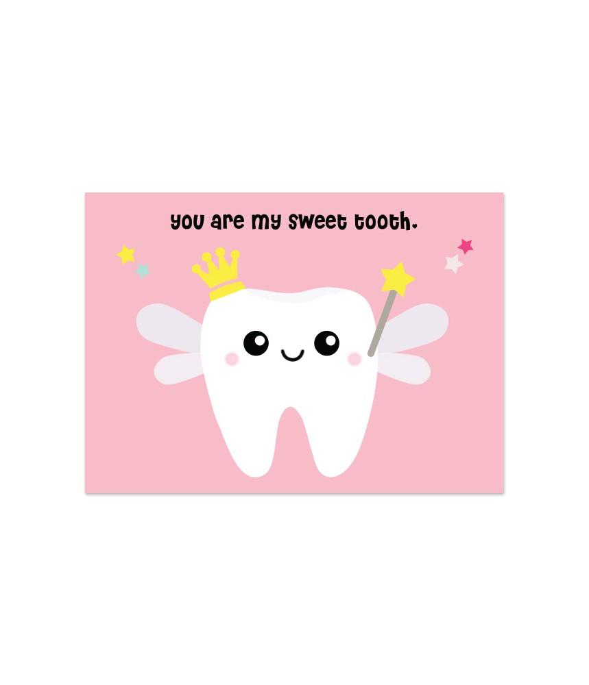 Kaart sweeth tooth