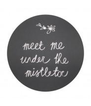Stickers meet me under the mistletoe