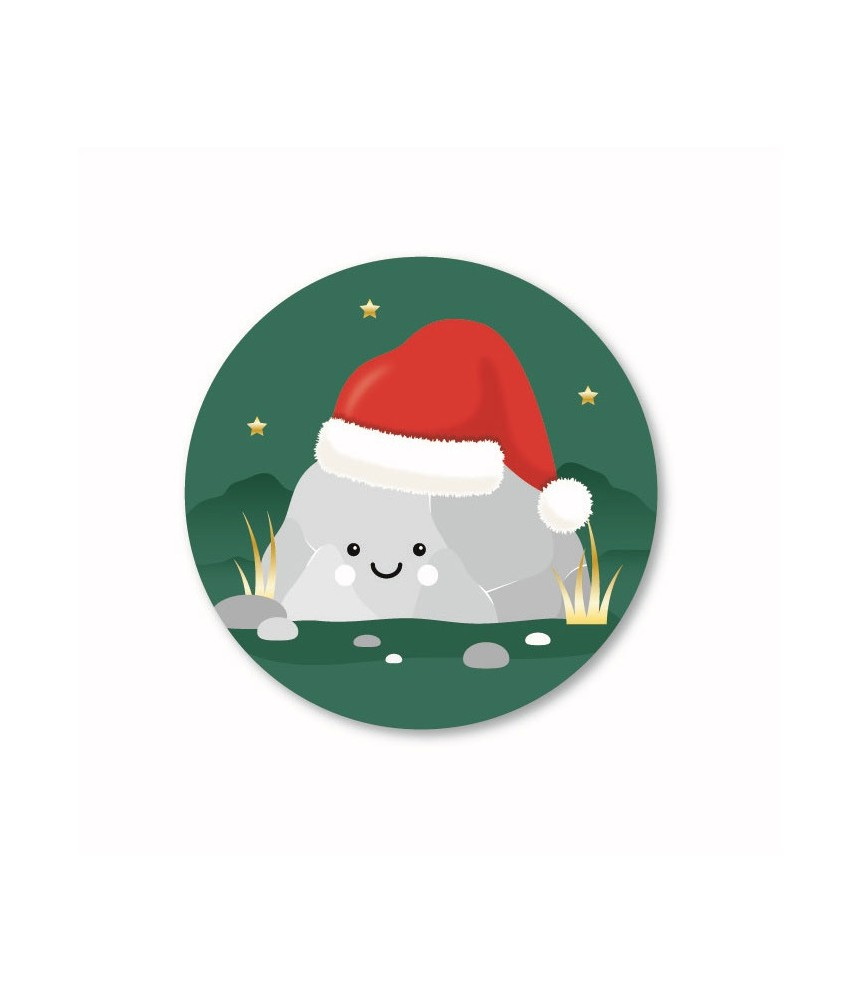 Stickers rond jingle bell rock