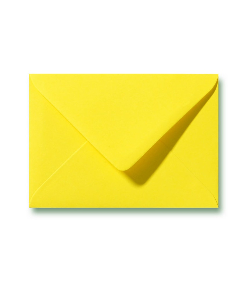 Envelop geel C6