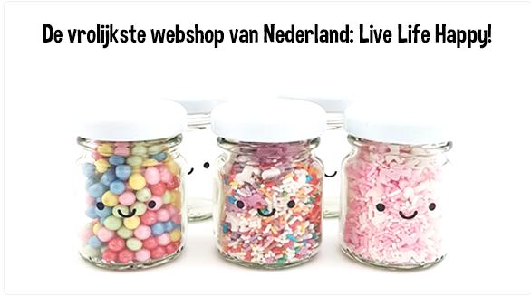 Live Life Happy de webshop voor schattige spulletjes